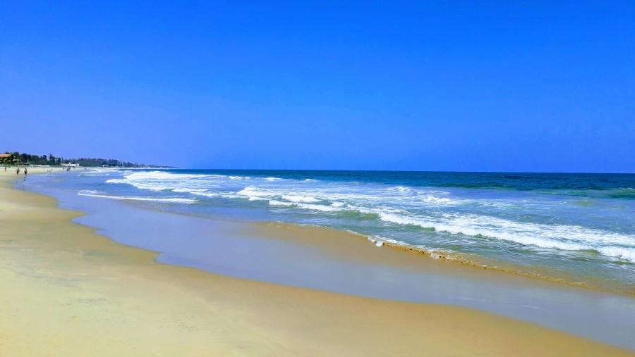 best beach in Mamallapuram