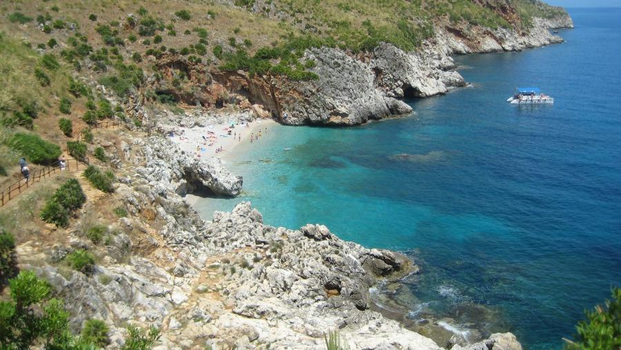 Riserva dello Zingaro : Cala della Capreria