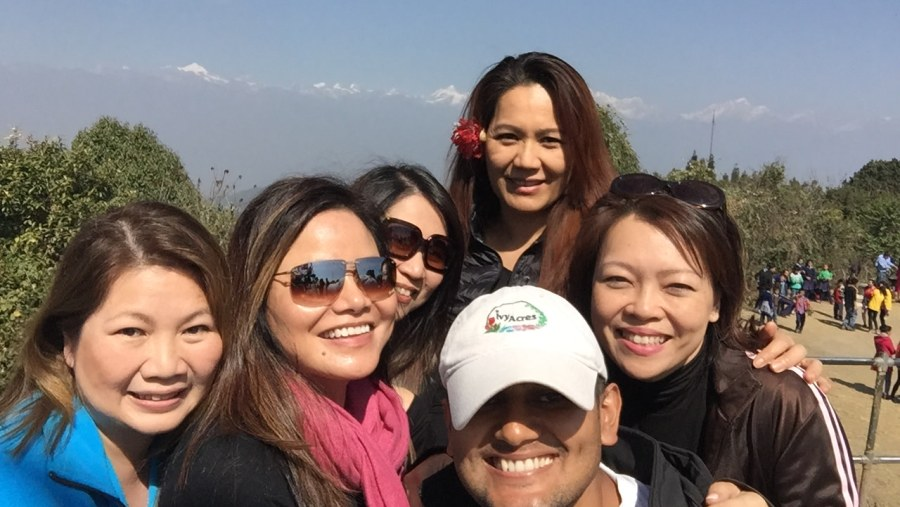 A fabulous all-ladies reunion in kathmandu