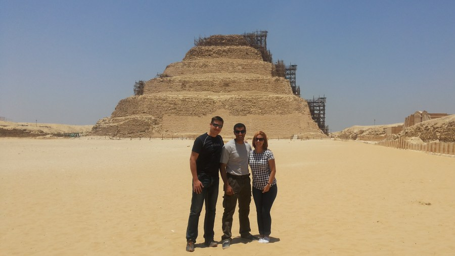 Step Pyramid Visit
