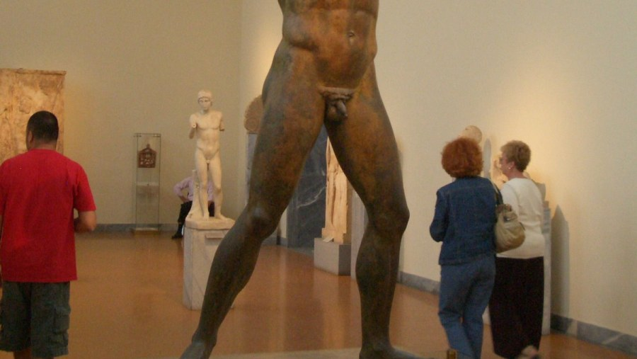 National Archaeological Museum Poseidon Statue