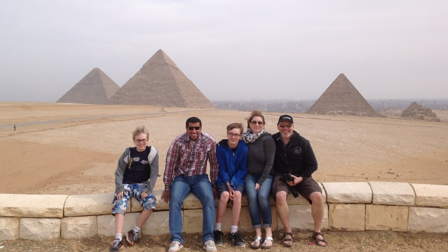 Pyramids Visit