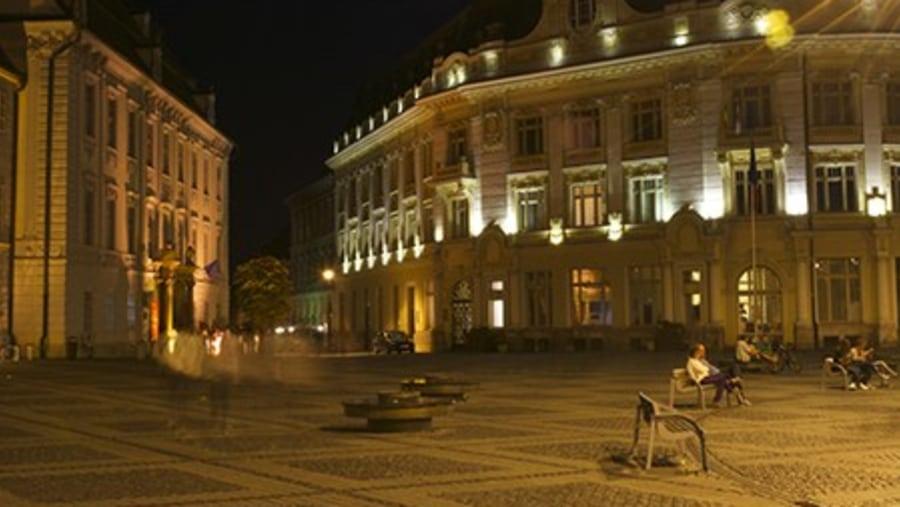 Sibiu Main Square - Tours in Brasov