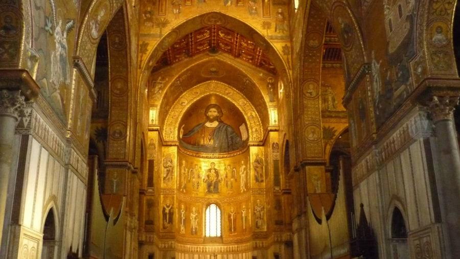 Duomo (Cristo Pantocratore) a Monreale