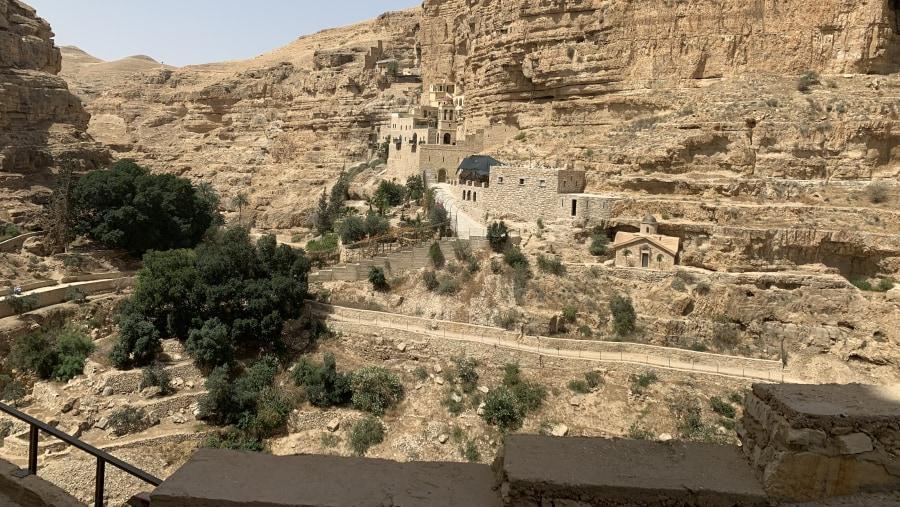 St George Monastery -Wadi Qelt