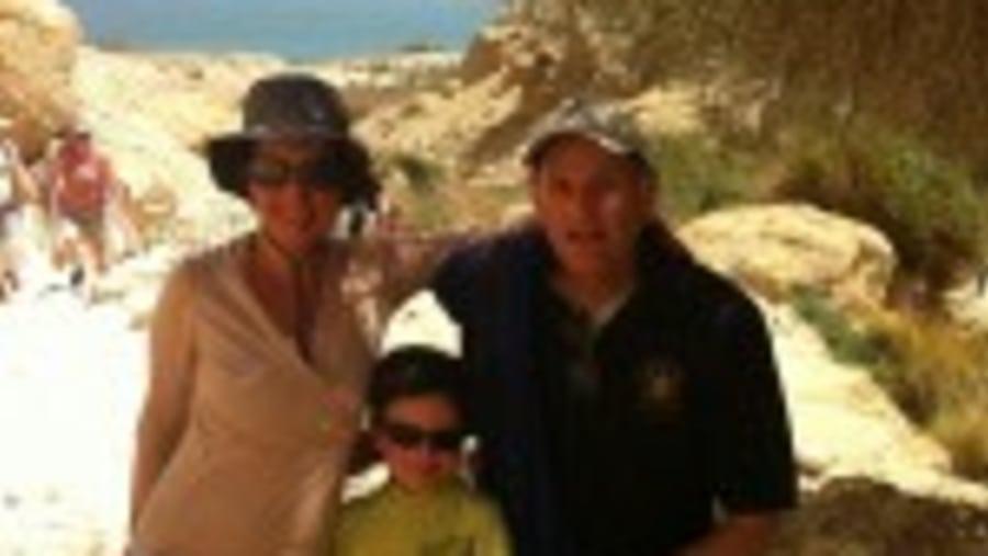 Dead Sea View from Ein Gedi