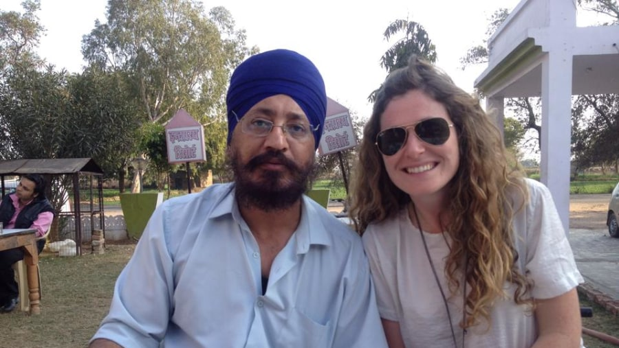 Do you need a excellent guide in India? Johny is the best :)