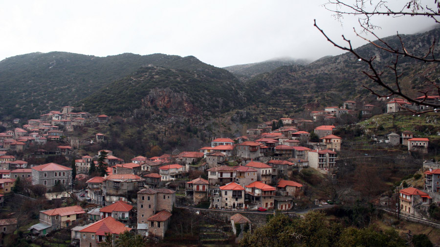 Dimitsana a mountain village and a former municipality in Arcadia, Peloponnese, Greece