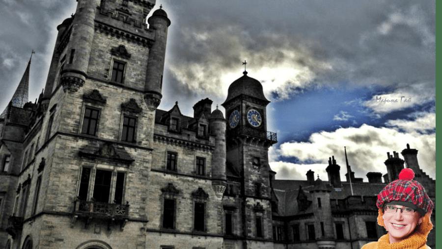 Dunrobin Castle in Satherland - Замок Данробин в графстве Сазерленд