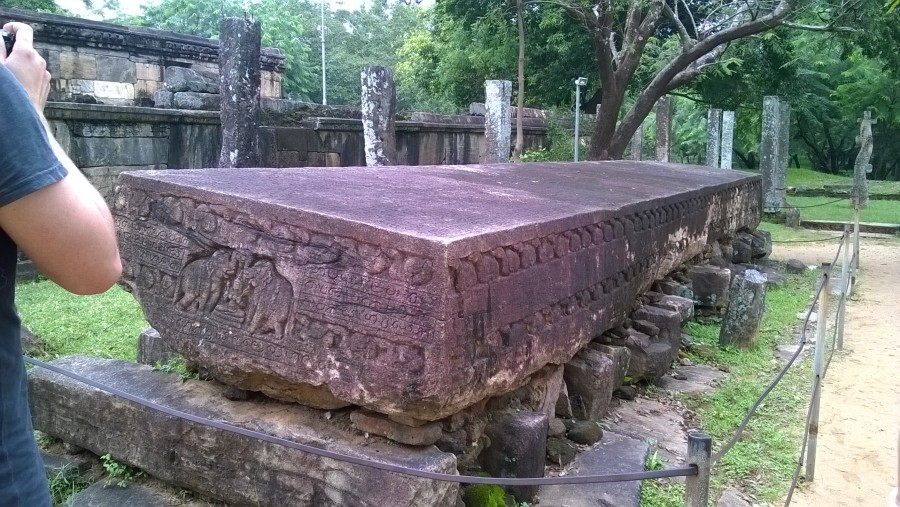 largest Stone Book in Sri Lanka