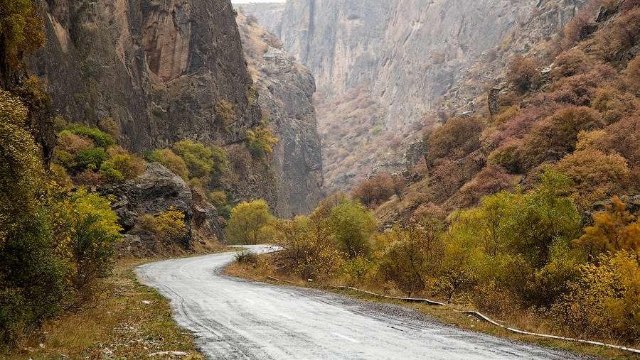 En route Noravank