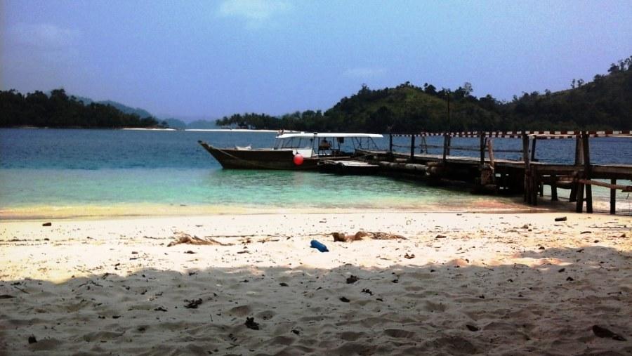 Pagang Island Beach