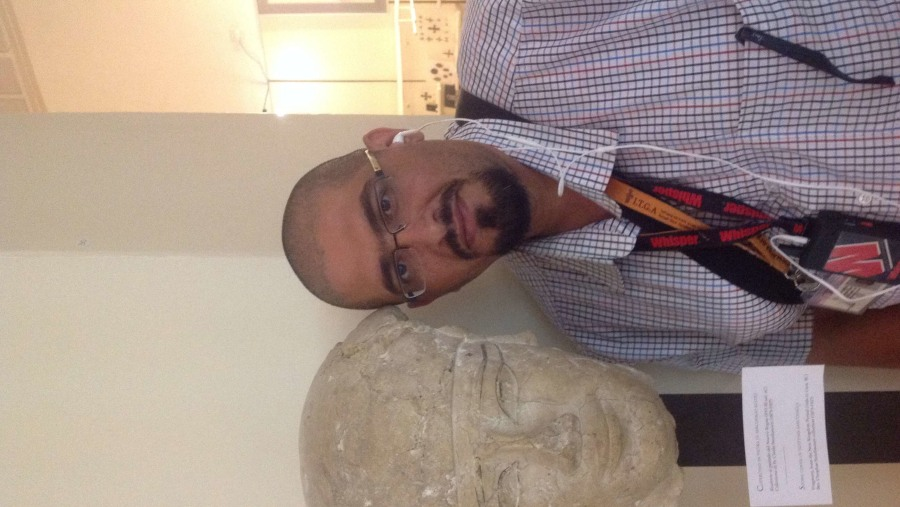 Face of pharaonic