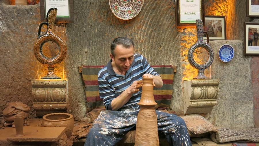Remzi Kaya introduced us to Kapadokya in a very special way!