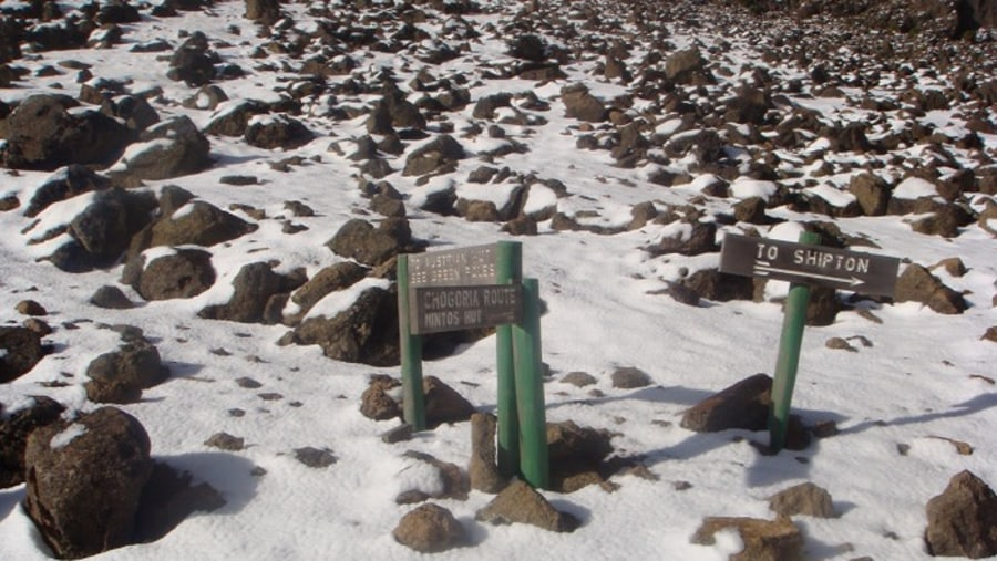 Climbing Mount Kenya, YHA Kenya Travel Mountain Adventures.