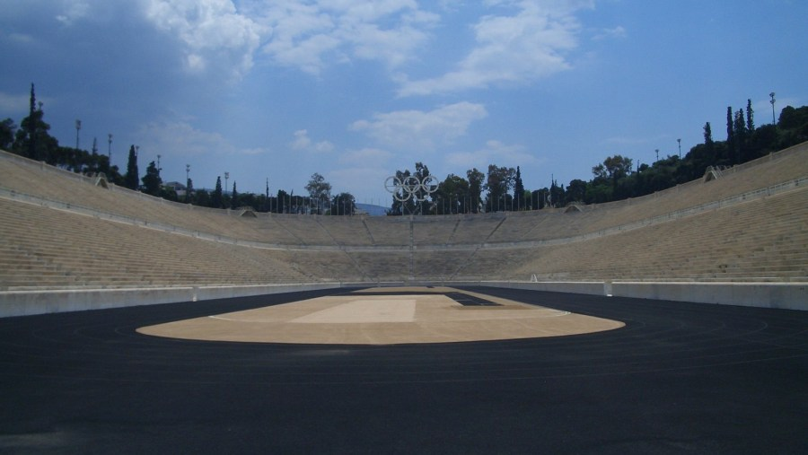 The Panathenaic Stadium also known as the Kallimármaro