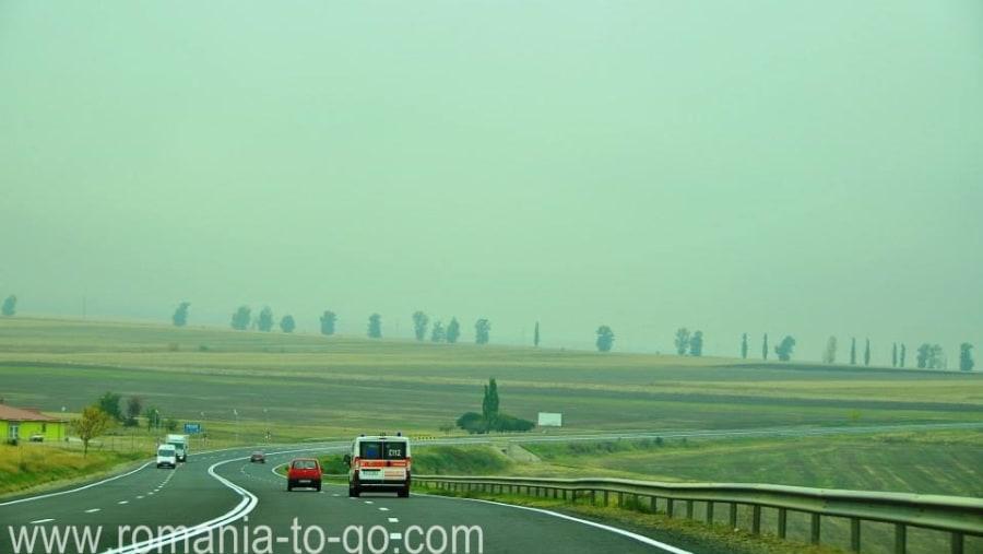 Vrancea hills