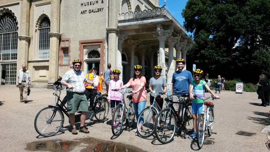 Bike tour with a tandom