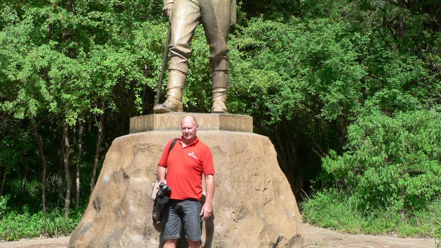 Statue David Livingstone