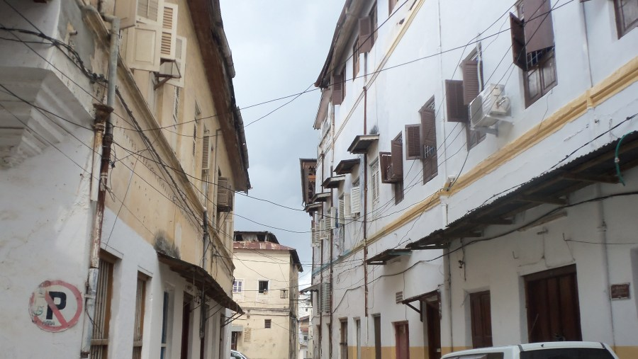 One of the alleys in Stone town