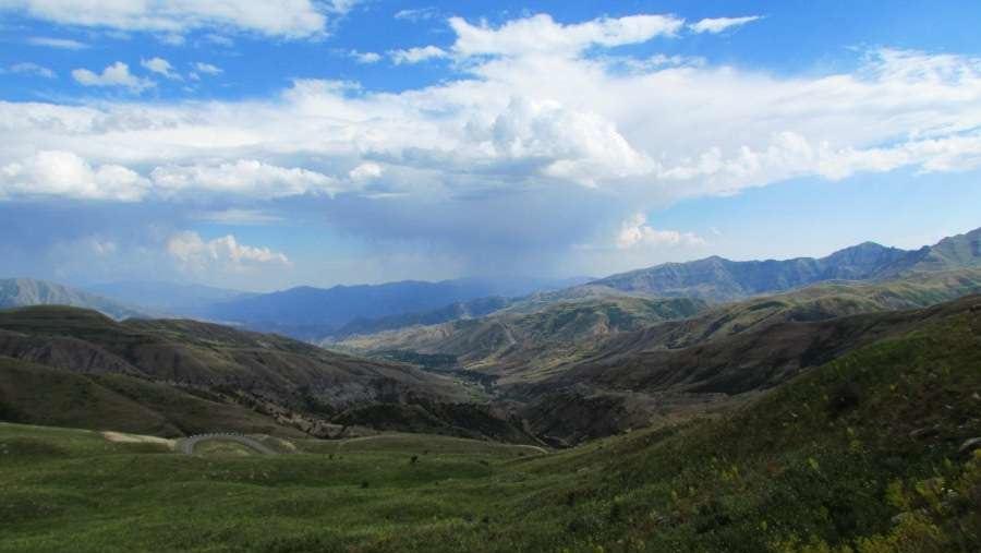 Selim Pass view