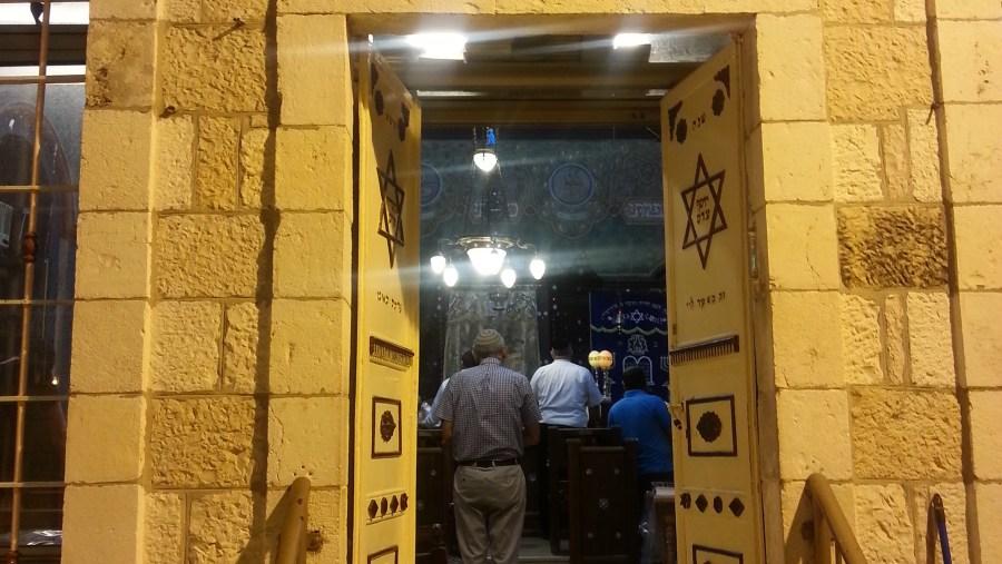Synagogue in Jerusalem