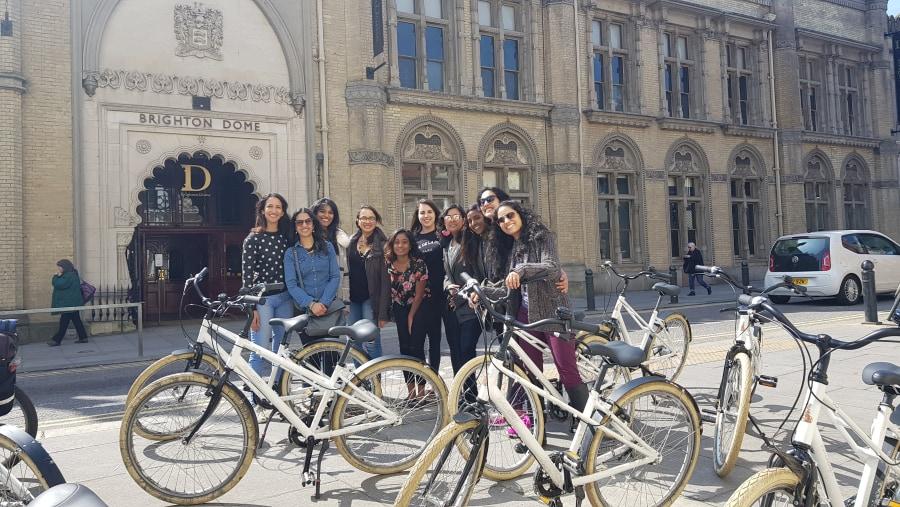 Group bike tours of Brighton