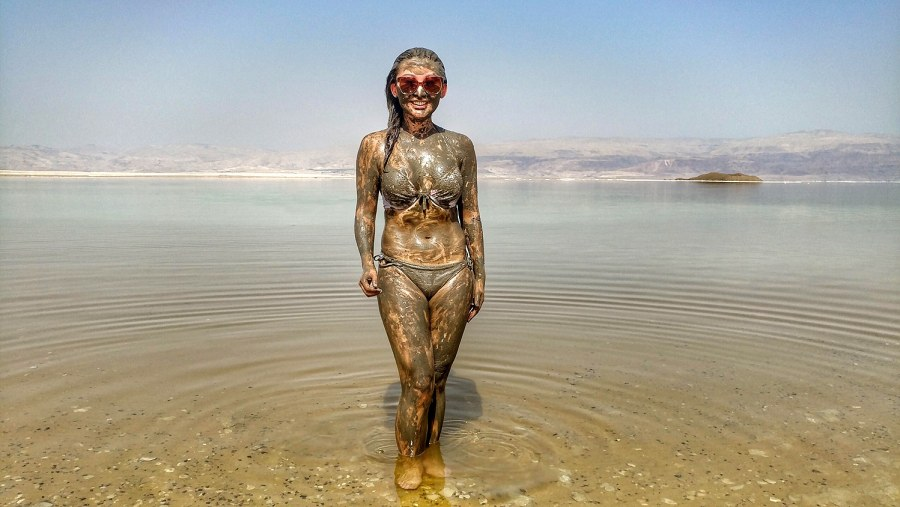 Instagraming at the Dead Sea