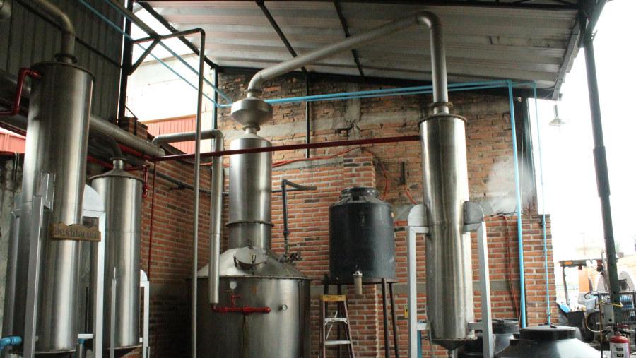 Segunda destilación.