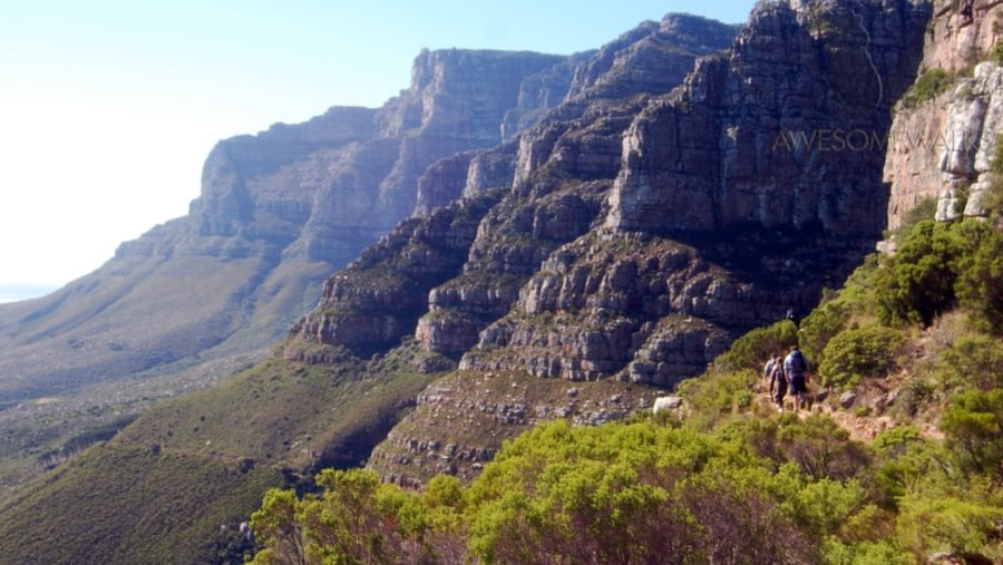 12 Apostles on Table Mountain