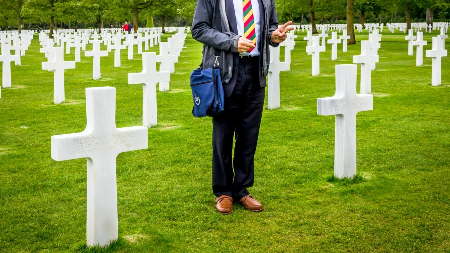 Astounding narrative of the D-Day events