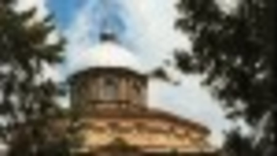 the church of St. George in Addis Ababa