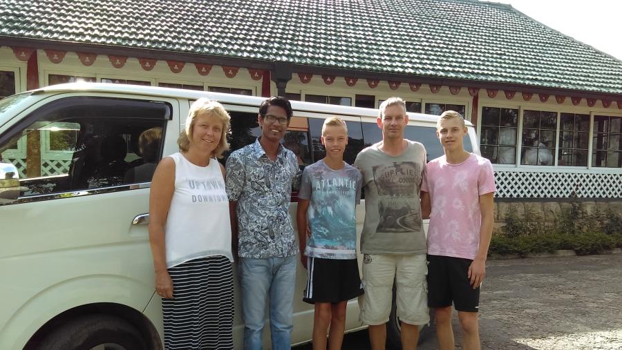 Pradeep Fernando tours