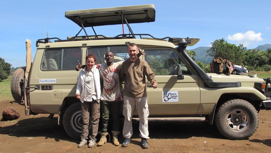 Amazing 3 days safari with Godwin
