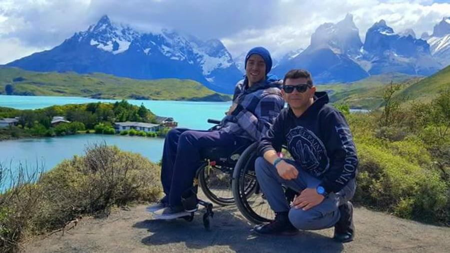 Wheelchair van tour