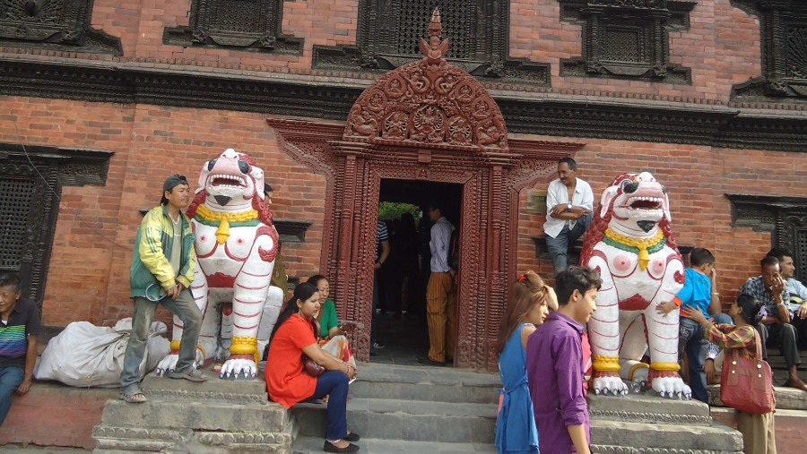 Kumari Ghar.. Home of Living Goddesses