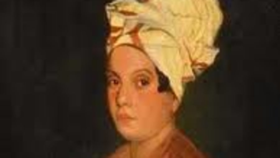 Portrait of a Femme de Couleur Libre (Free Woman Of Color) believed to be Marie Laveau
