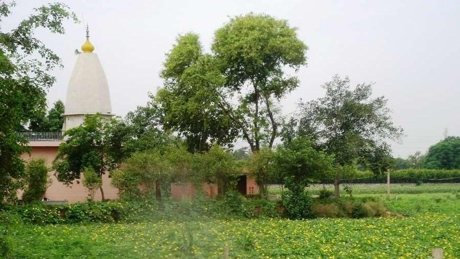 Village temple dedicated to goddess Durga