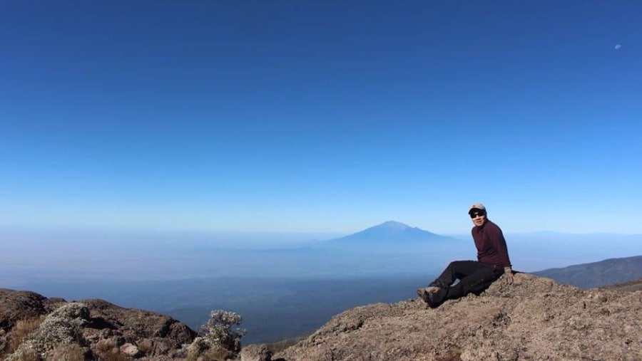 A journey to remember. To the top of Africa