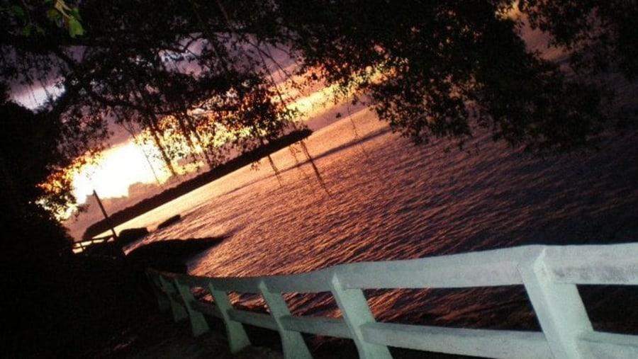 Sunset at Sikuai Island