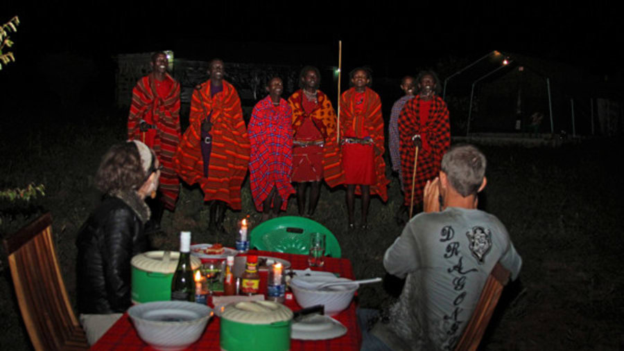 Bush Dinner - Fisi Camp