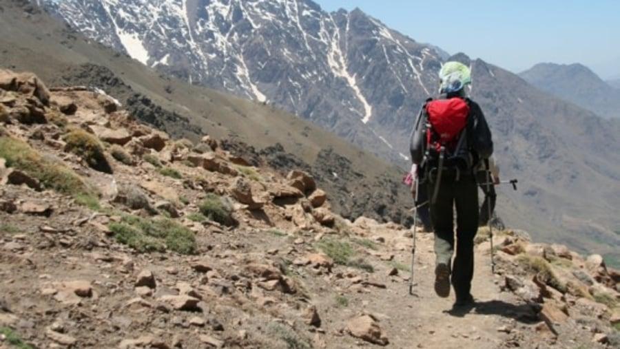 Superb Winter trek in the High Atlas