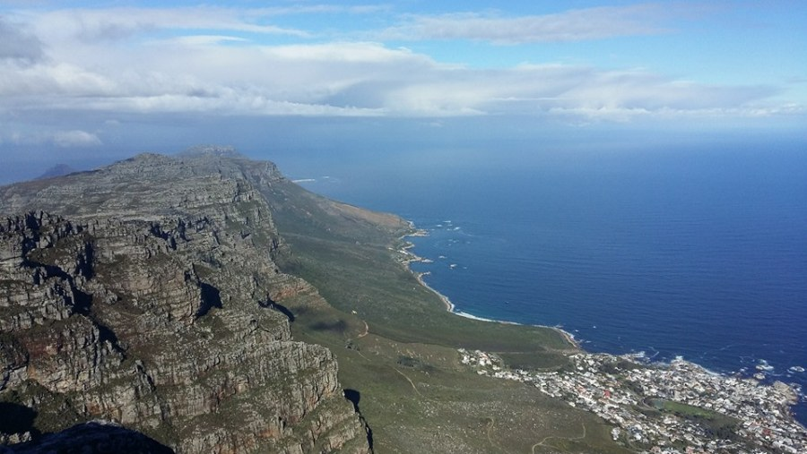 Atlantic seaboard from Table Mountain