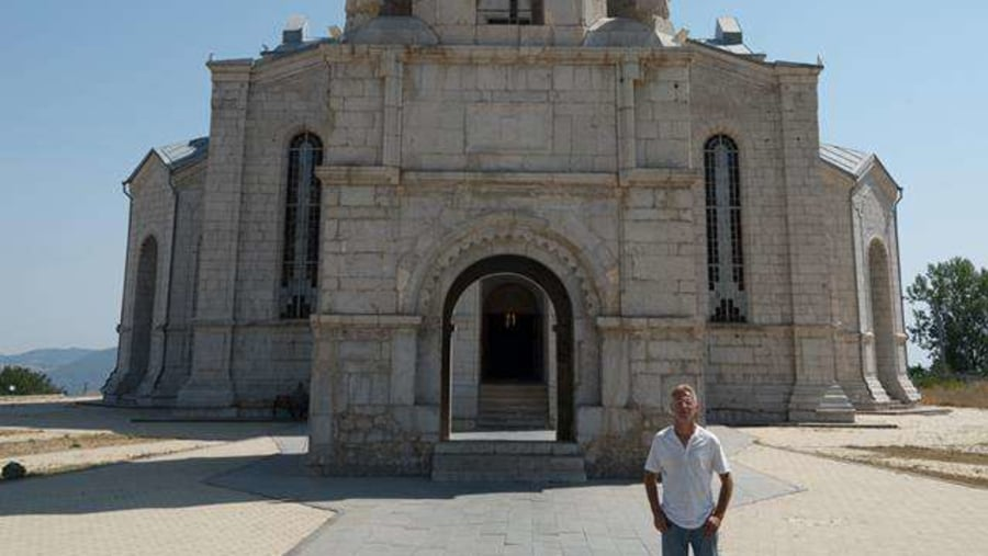 Ghazanchetsots mst, Nagorno Karabakh Republic