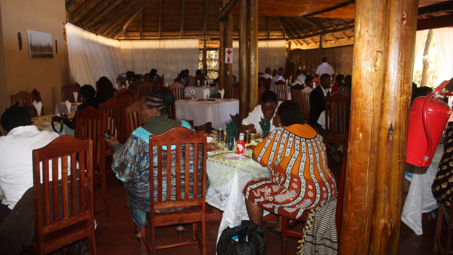 Kwalape Lodge invited us for Dinner