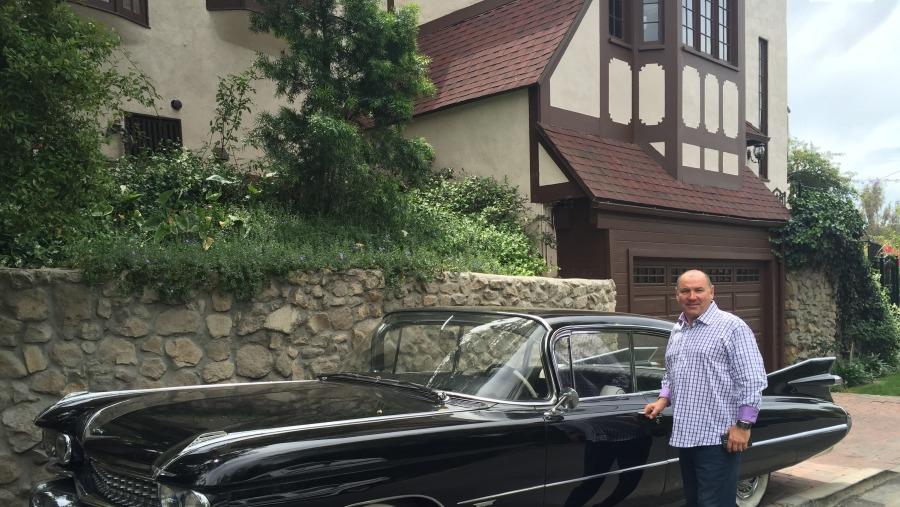 Los Angeles old car