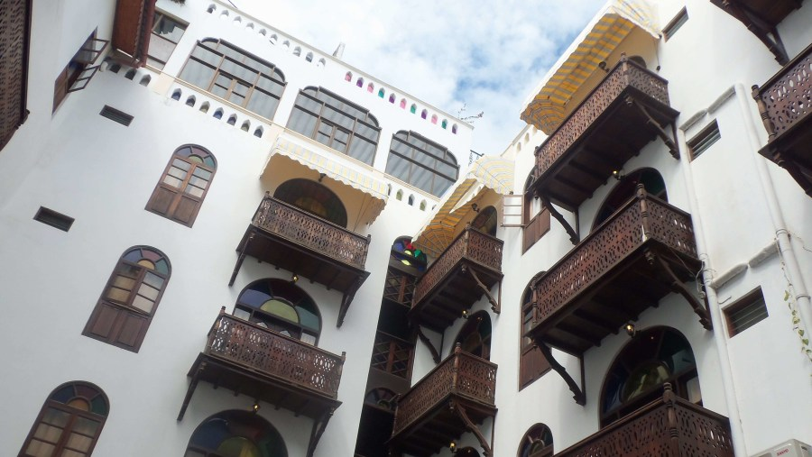 Dhow Palace Hotel - one of the beautiful architectural attractions of Zanzibar Stone town