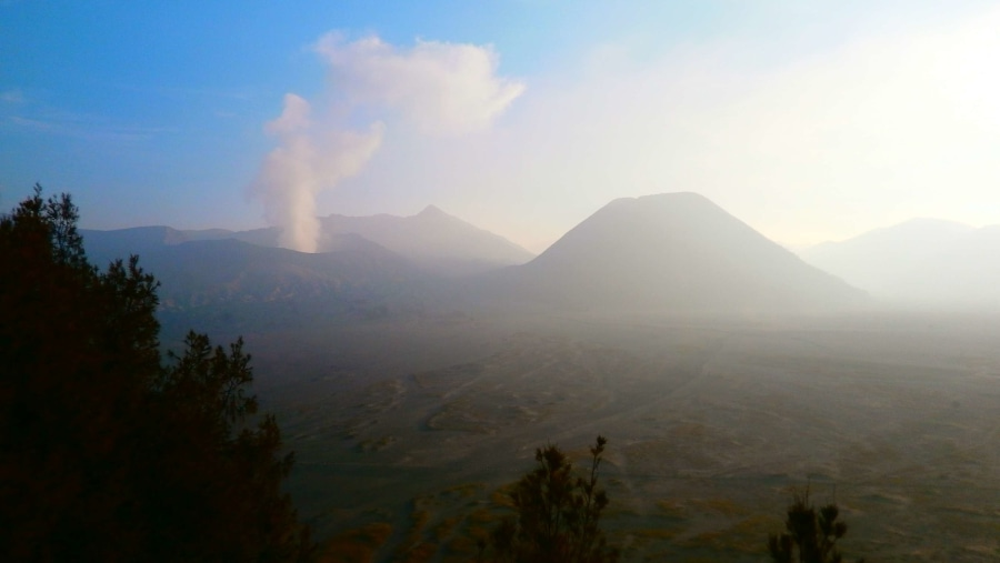 Bromo from Lava View Lodge