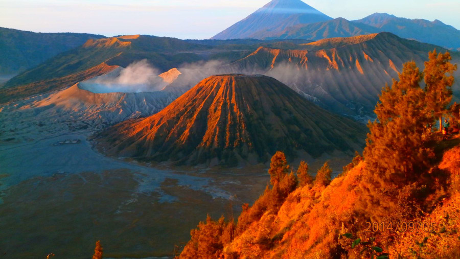 Bromo from King Kong Hill