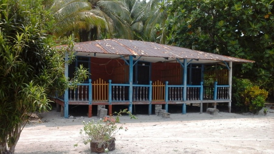 Place to stay at Pagang Island